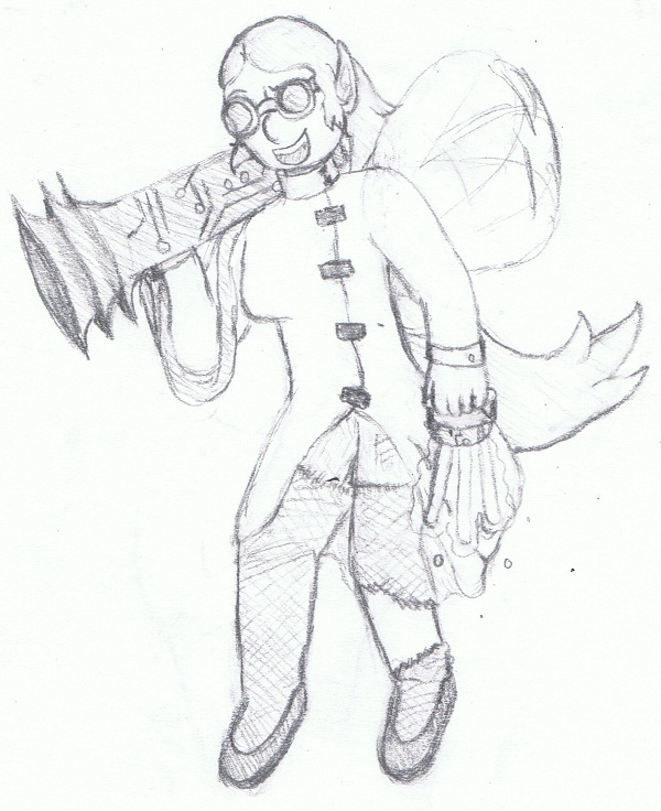 Day 4: Mad Scientist Fairy