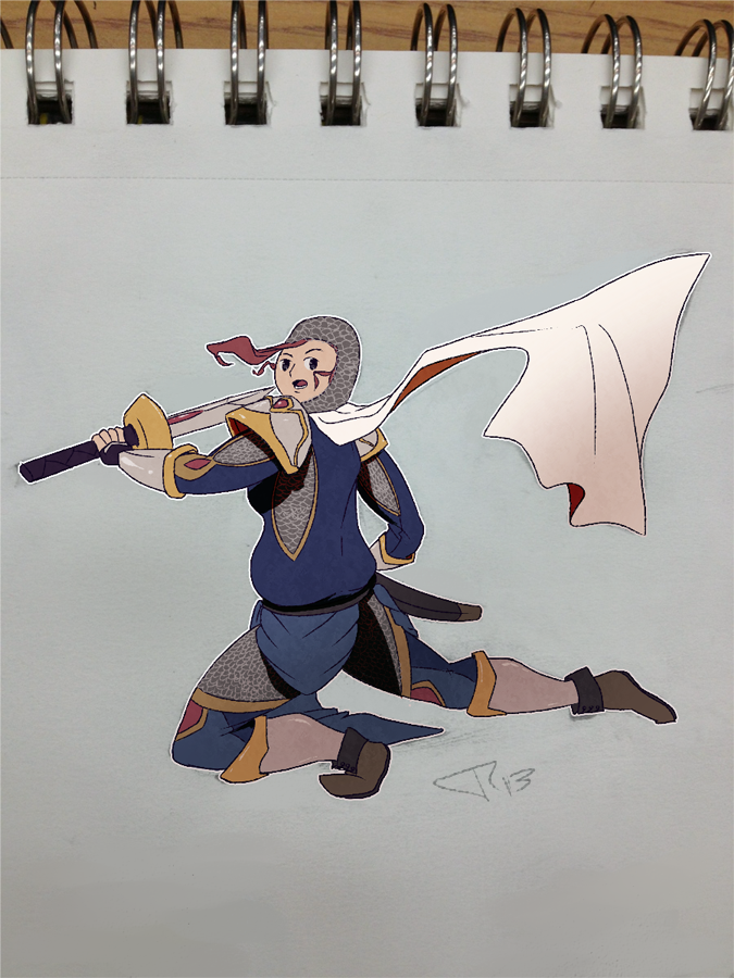 Day 11: Knightess