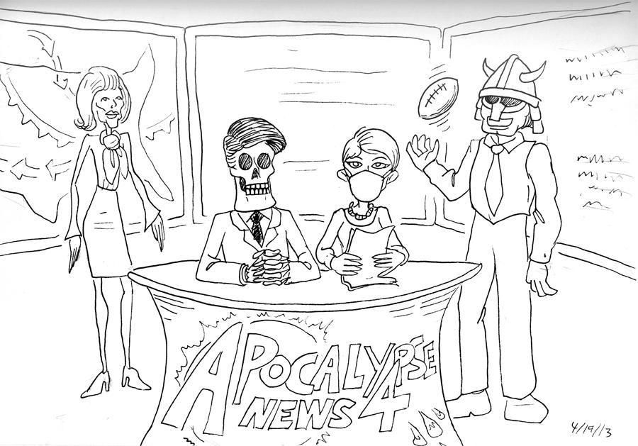 News Team 4 of the Apocalypse